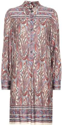 Isabel Marant Wilena stretch jersey shirt dress