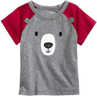 First Impressions Toddler Boys Bear-Print T-Shirt
