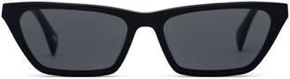 Larsson & Jennings Black Cat Eye Sunglasses