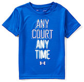 Under Armour Little Boys 4-7 Any Court Any Time Short-Sleeve Tee