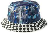 Vans Shoes Off The Wall Men's Hank Foto 2 Bucket Hat Cap - (L/XL)