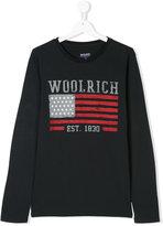 Woolrich Kids logo T-shirt