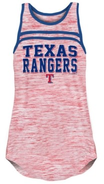 5th & Ocean Texas Rangers Women's Space Dye Tank