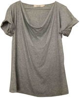 Reiss Grey Cotton Top for Women