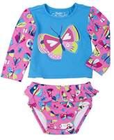 Hatley Baby Girls' Rash Guard Set Swim Shirt