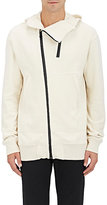 Nlst Men's French Terry Bonded-Zip Hooded Sweatshirt-White Size S