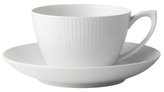 Royal Copenhagen Fluted Teacup & Saucer
