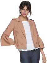 Elle Women's ELLETM Crop Flare Sleeve Jacket