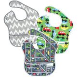 Bumkins 3-pk. Waterproof Printed SuperBibs