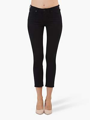 AG Jeans The Prima Skinny Cigarette Ankle Jeans, Super Black