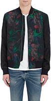 Paul Smith Men's Tropical-Print Bomber Jacket