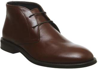 Ask the Missus Input Chukka Boots Brown Leather