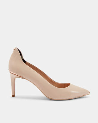 Ted Baker VIYXN Back detail low heel courts