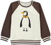 Mini Rodini Organic Cotton Penguin Sweatshirt