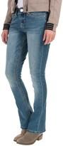 Seven7 Big Stitch Rocker Jeans - Slim Fit, Bootcut (For Women)