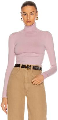 JoosTricot Long Sleeve Turtleneck Sweater in Cocoon   FWRD