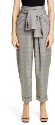 Alexander Wang Tie Waist Carrot Leg Pants