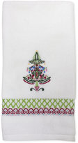 Dena Peppermint Twist Embroidered Hand Towel