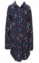 Levi's s Big Girls 7-16 Floral Button-Down Dress