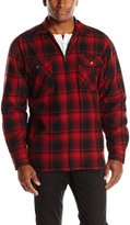 Wolverine Men's Marshall Full Zip Sherpa Lined Shirt Jacket