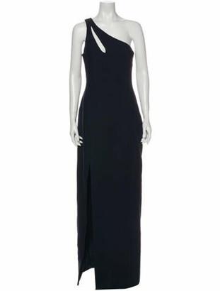 Cinq à Sept One-Shoulder Long Dress w/ Tags Blue