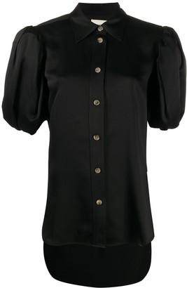 KHAITE puff sleeve blouse