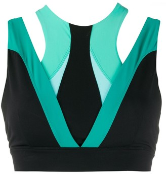 NO KA 'OI Colour Block Sports Bra