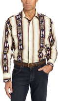 Wrangler Men's Checotah Spread Collar Western Shirt
