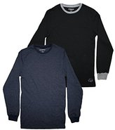 (Pack of 2)Ecko Unltd Youth uperior Quality Crew-Neck Long Sleeve Shirt S