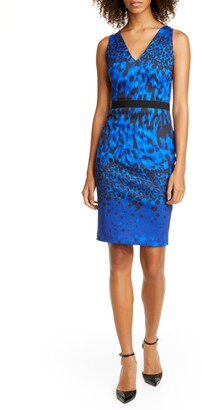 Ted Baker Amaalee Topaz Sleeveless Body-Con Dress