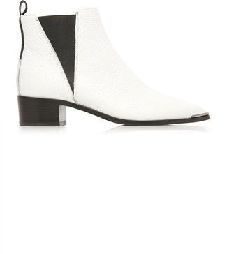 Acne Studios Jensen Grained Leather Chelsea Boots