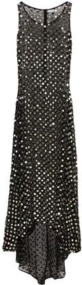 Ashish embellished sheer maxi dress