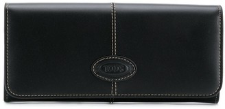 Tod's Continental Flap Wallet