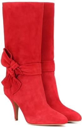 Valentino suede boots