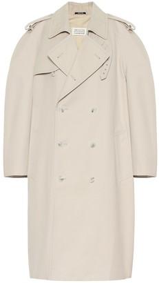 Maison Margiela Cotton-blend coat