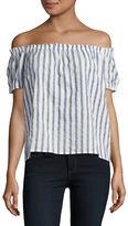 Vero Moda Short-Sleeve Off-The-Shoulder Top