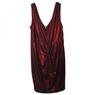 Calvin Klein Red Cotton - elasthane Dress for Women