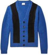 SIMON MILLER - Striped Cashmere Cardigan