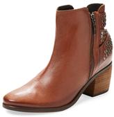 Schutz Caitlin Studded Leather Bootie