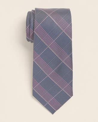 Michael Kors Berry Glen Check Pattern Tie