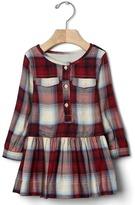 Gap babyGap + Pendleton pocket dress