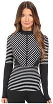 adidas by Stella McCartney Studio Stripe Long Sleeve AX7056 Women's Clothing