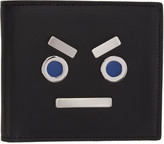 Fendi Black Faces Wallet