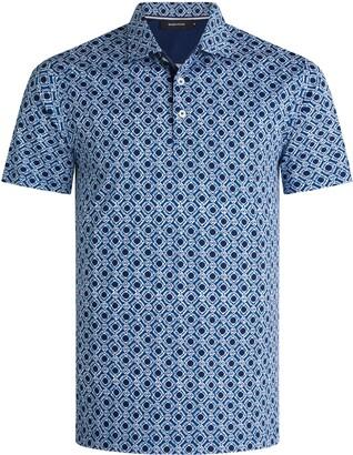 Bugatchi Print Polo Shirt