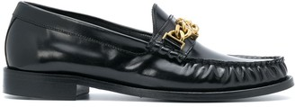 Sandro Chain-Embellished Loafers