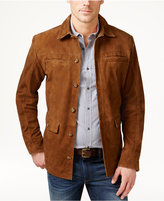 Tasso Elba Men's Suede Jacket, Only at Macy's