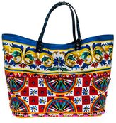 Dolce & Gabbana Beatrice Bag In Printed Canvas