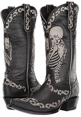 Old Gringo Selfie (Black) Cowboy Boots