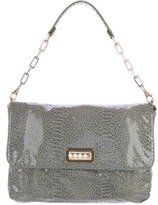 Tory Burch Embossed Patent Leather Shoulder Bag