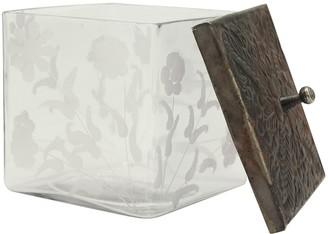 Stonebriar Decorative Glass Container Table Decor